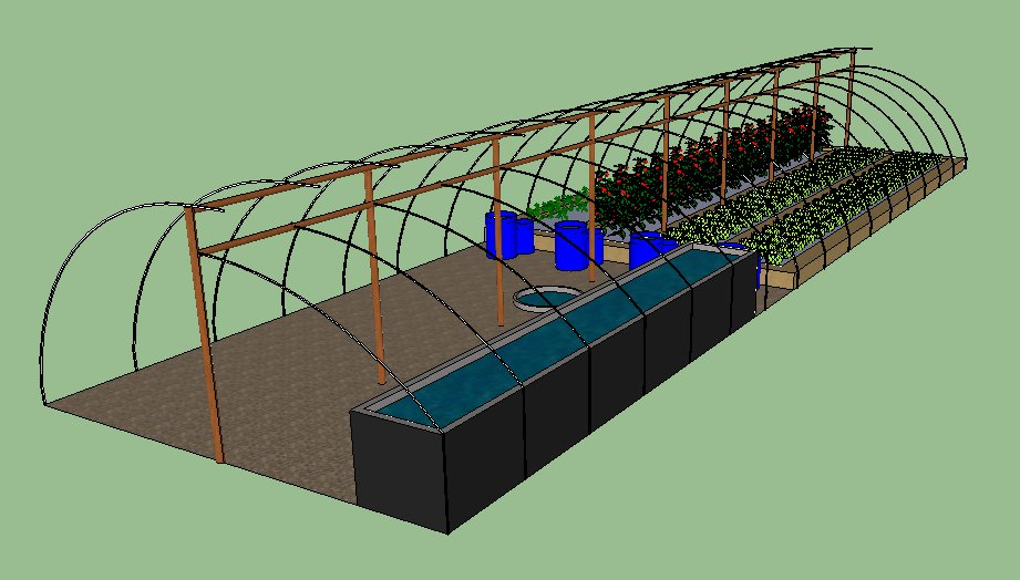 Aquaponic System Final Design Wrong Way Home